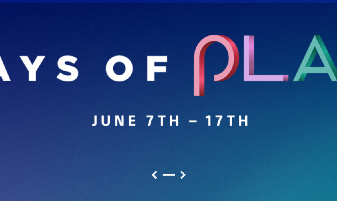 Days of Play | Playstation Digital Game Deals