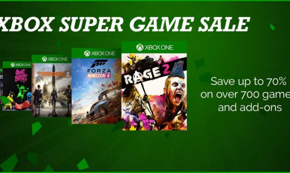 Xbox Super Game Sale