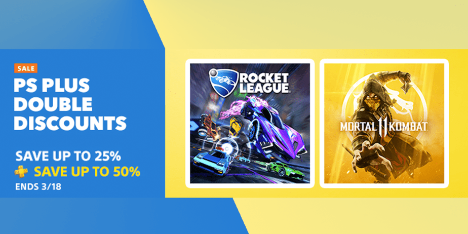 PS Store Double Discounts Sale