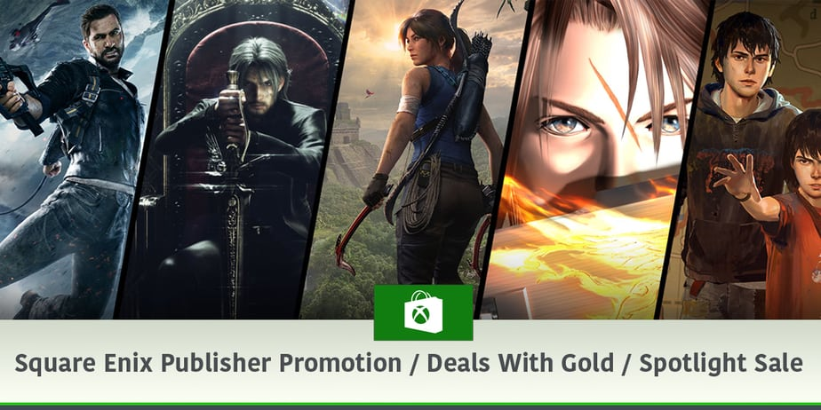 Square Enix Publisher Promotion Save up to 85%